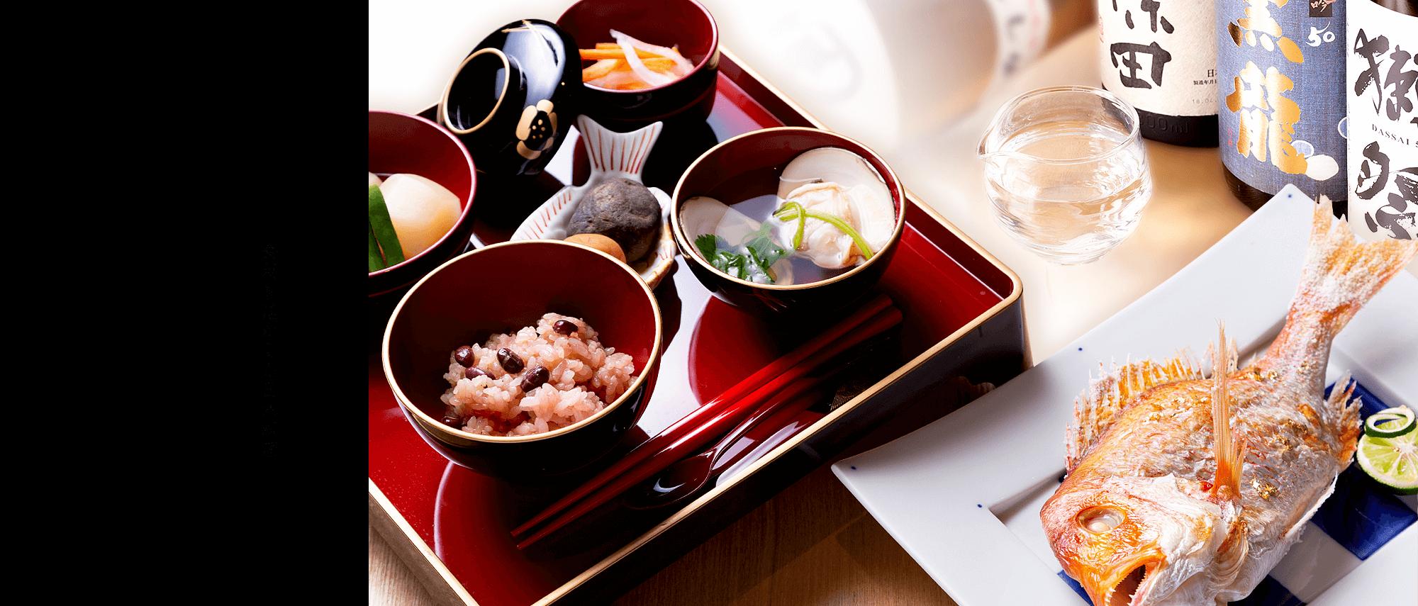 食材を活かした日本料理